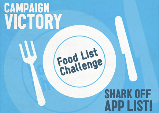 bite-back victory shark and marine conservation facebook app